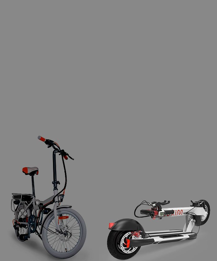 Electric scooter</br> Vs </br>Electric Bicycle
